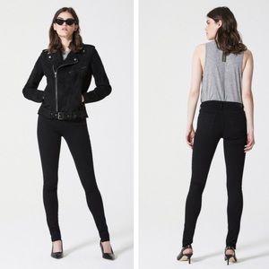 Ag the legging black super skinny jeans stretch 26